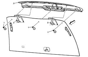 Replacement Led High Mounted Cadillac Third Brake Light on cadillac cts 03 wiring diagram